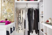 """home: CLOSET. / """"I like my money right where I can see it… hanging in my closet."""" - carrie bradshaw"""