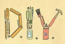 D.I.Y / Coisas que vou fazer... pra tornar a casa um lar criativo..