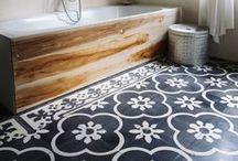 Painted Floors - Genius!