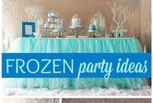 Frozen BIrthday Ideas