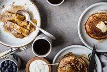 Pancakes. / Sundays are for pancakes.