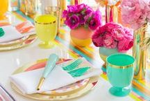 Party Tables to Inspire / A selection of beautifully styled party tables!