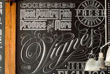 Typography / Typography Arts, Fonts, Lettering