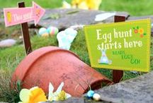 Easter / Everything you need for the ultimate family Easter. Decorate your eggs, then have an egg hunt. Or fill the treat holders with tasty treats!