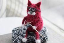 Knitting funny