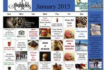 Eagle Mountain House Monthly Calendars / Here is our Monthly Calendar of events and promotions in Jackson NH / by Eagle Mountain House & Golf Club