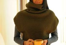 Knitting/ tunic, sweater