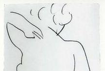 paintings + drawings / by Fenne T