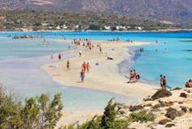 Popular Destinations in Crete / Some of the most popular destinations with excellent sandy beaches and villas, hotels and apartments nearby!  Updated frequently!