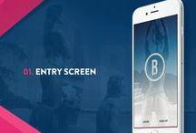 mobile UI design inspiration / Mobile UI and UX design inspiration