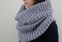 Knitting /cowl