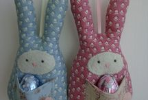 Sewing - Easter Ideas / Projects for Easter - some made by me and some ideas to try