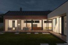 Rodinné domy na Slovensku / Greenstudio ponúka komplexné riešenia pre vaše bývanie od návrhu interiéru, cez rekonštrukciu až po realizáciu samotnej stavby a stavebný dozor.