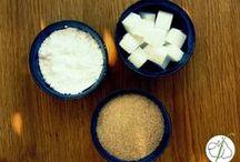 Zucker & Süßstoffe / Sugar & Sweeteners / Welche Zuckerarten und Süßstoffe sind gut verträglich und bei Fructoseintoleranz geeignet? Welche Tipps gibt es im Umgang mit Zucker?