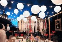 Summer Celebrations / Inspirations for the perfect outdoor summer gatherings