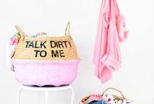 DIY | Haushalt und Organisation / Was macht dein Zuhause schöner, gemütlicher und deine Familie glücklich? Unsere Sammlung schöner Wohnideen