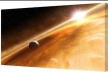 Space / Space canvas art prints, available in a range of canvas sizes.