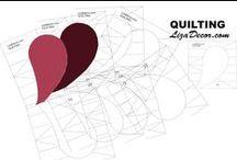 QUILTING - Quiltovací pravítka a šablony / Patchworková pravítka, šablony a quiltovací pravítka jsou vyráběny z velmi kvalitního litého akrylátového skla PERSPEX ISO 9001.  Perspex® se vyznačuje vynikající propustností světla (92%), která je srovnatelná se sklem, odolností proti nárazu (5x odolnější než sklo ve stejné tloušťce) a nízkou hmotností (1,19 g/cm³). Povrchová tvrdost je nejvyšší ze všech běžných plastů. Litý akrylát Perspex® vykazuje nízké povrchové pnutí a je odolné vůči UV záření.