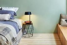BEDROOM / With warm lighting and cozy fixtures, Seed has been designing lamps to reflect a personality, not just an accessory.