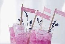 Rezepte | Smoothies & Drinks / Egal ob Cocktail oder aromarisiertes Wasser. Hier ist unsere Open Bar - Cheers!!!