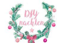 DIYnachten der Blogger-Adventskalender / Zusammen mit  Dekotopia, Gingered Things und mein feenstaub und Crafty Neighbours Club warten wir mit euch auf die große 24 und öffnen jeden Tag auf einem unserer Blogs ein neues Türchen. Welcher Blog dran ist, wird erst am Aktionstag auf der Startseite an unserem tollen Weihnachtsbaum preisgegeben, ihr dürft also jeden Tag gespannt sein! Hinter den einzelnen Türchen findet ihr nicht nur eine DIY-Idee zum Nachbasteln, sondern auch mega coole Gewinne, die das Bastlerherz höher schlagen lassen.