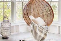 Tendance Rotin, osier / Wicker, Rattan / Authentique et très chic, le rotin apporte un style à votre intérieur. Tendance du moment, avec son petit côté rétro, on peut l'intégrer dans chaque pièce de la maison : chambre, salon ou salle à manger...