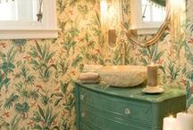 Powder Rooms / Bathrooms That Fit My Style