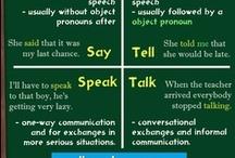 #grammartips / Dicas rápidas e super úteis de gramática.