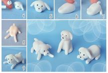 Fondant figures, step by step