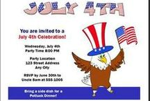 4th of July Party Invites & Ideas / 4th of July Party Invitations and Party Ideas