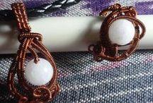My Jewelry4 / Wire Jewelry, Jewelries I made