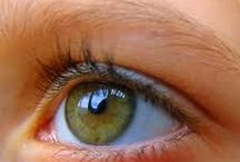 Eye Contact-The eyes are the window to the soul / Eyes reveal numerous emotions. If you want to know how someone really feels, look 'em straight in the eye.