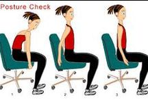 How You Sit, Walk, & Stand Says Something About You / Nonverbal communication includes how you sit, walk, and stand.