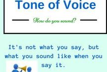 It's How You Sound When You Say It That Matters / Tone of Voice is a big part of nonverbal communication.