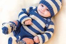 Knitting: For Baby / Knitting patterns for babies and small children. / by BlueShoes96