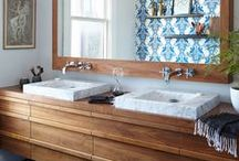 bathrooms / Find inspiration for decorating your bathroom. Whether it's a master suite, powder room or kids bath, we've got ideas for you!
