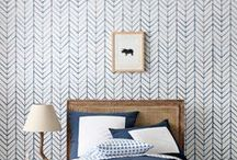 wallpaper / Colors, prints, and patterns we love. Make a statement and create visual interest by adding wallpaper to any room.