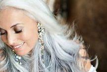 gray hair power ༺ ♥ ༻