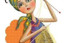 knitting ༺ ♥ ༻