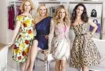 Carrie Bradshaw & friends ༺ ♥ ༻ / 'I've spent $40,000 on shoes and I have no place to live? I will literally be the old woman who lived in her shoes!' Carrie Bradshaw