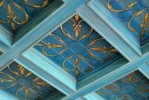 ceilings, tiles, mosaics ❇