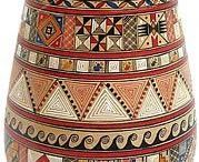 Pottery / ceramics from around the world. I honor the work of human hands, the effort, the beauty ~ independently of the origin