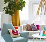 #colorfullychic / Browse interiors that are #ColorfullyChic