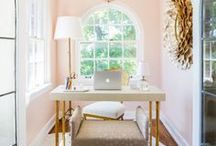office / Create a workspace that will inspire you and your work. Find different desk styles and organizational tips and tricks.