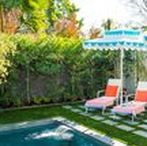 outdoor spaces / Fabulous outdoor decor ideas for every sized backyard, pool, patio or balcony!