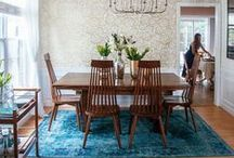 dining spaces / From breakfast nooks to holiday dinners these dining rooms will inspire you to use your kitchen more!