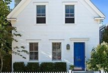 exteriors / Curb appeal inspiration. Front door ideas. Exterior before and afters.