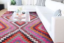 rugs / Rug placement and size inspiration for living rooms, bedrooms, entryways and more!