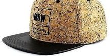 """Collection Of Cork Hats / SNAPBACK CORK HAT . an eco vegan garment to use every day . eco cool and fashionable . finished with a synthetic leather brim . cool message inside: """"simplicity is the ultimate sofistication"""""""