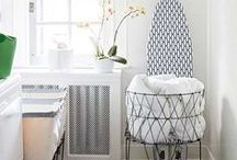 laundry rooms / Organization and ideas for small and large laundry rooms.